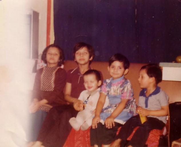 My five older siblings